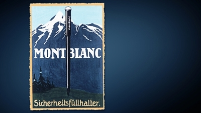 An Ad for the Original Montblanc Pen