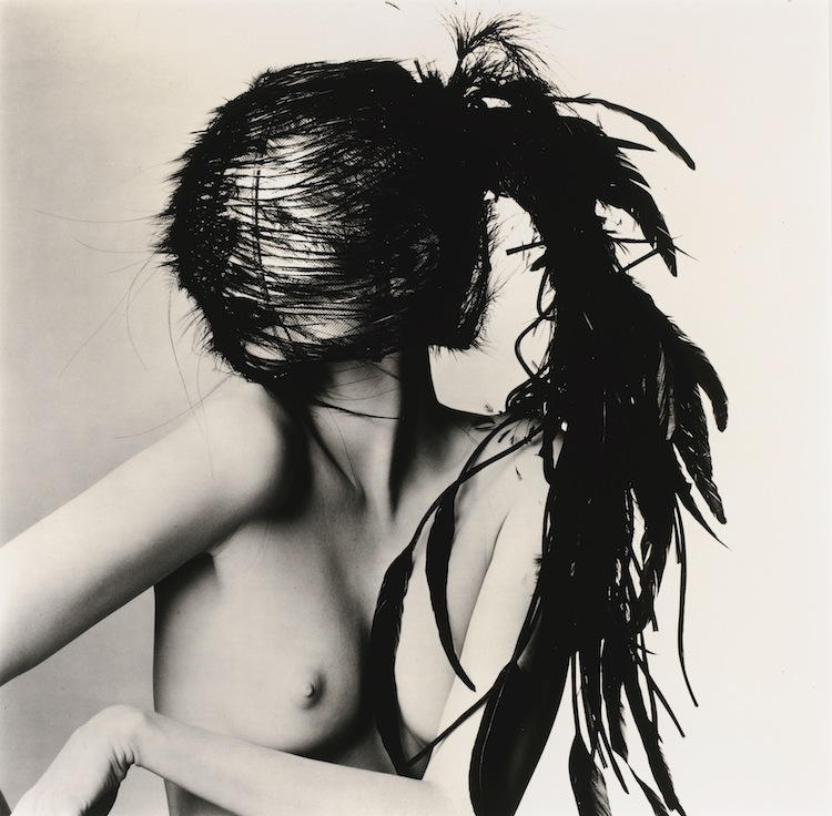 Irving Penn 'CHANEL FEATHER HEADDRESS (B), NEW YORK', 1994 Estimate 15,000 — 20,000 GBP, private european collection