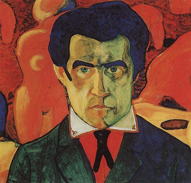 Kazimir Malevich, Self-Portrait, 1910