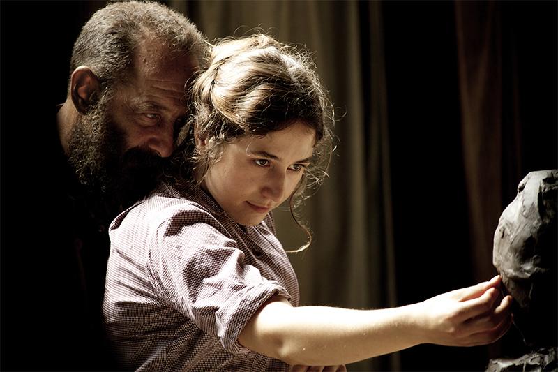Auguste Rodin (Vincent Lindon) et Camille Claudel (Izïa Higelin) © Shanna Besson / Les Films du Lendemain