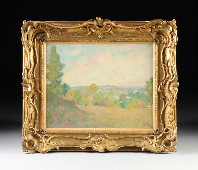GEORGES D'ESPAGNAT (French 1870-1950). Frankrike. Utrop: 652 000 SEK. Simpson Galleries.