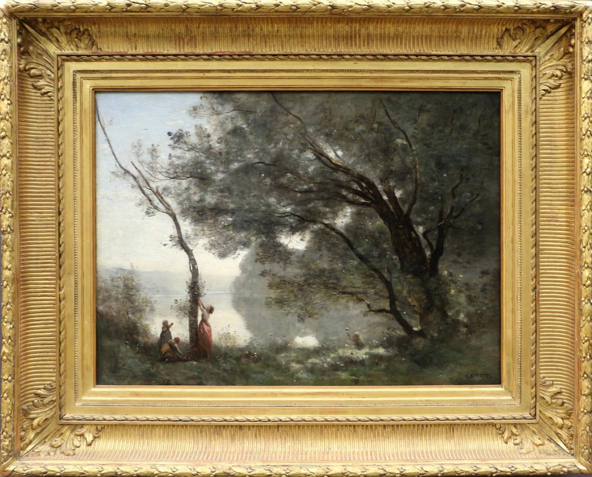 Jean-Baptiste Corot, « Souvenir de Mortefontaine », 1864