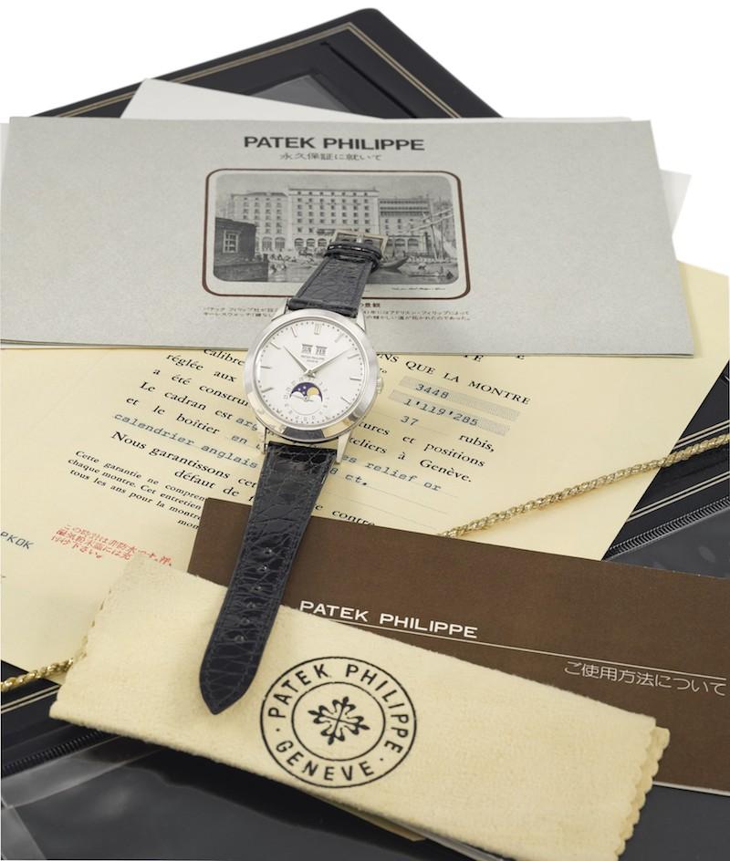 Patek Philippe Ref 3498 hos Christie's