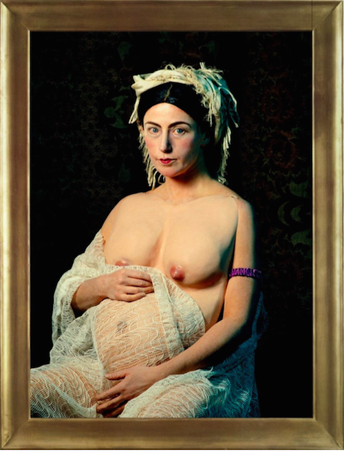 Cindy Sherman (b. 1954) Untitled #205, 1989 chromogenic colour print 61 1/2 x 48 in. (156.2 x 121.9 cm.) This work is number four from an edition of six. © Cindy Sherman Courtesy of Skarstedt
