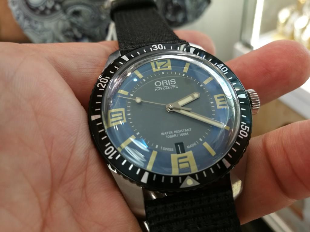 Dialshot: Oris Diver 65