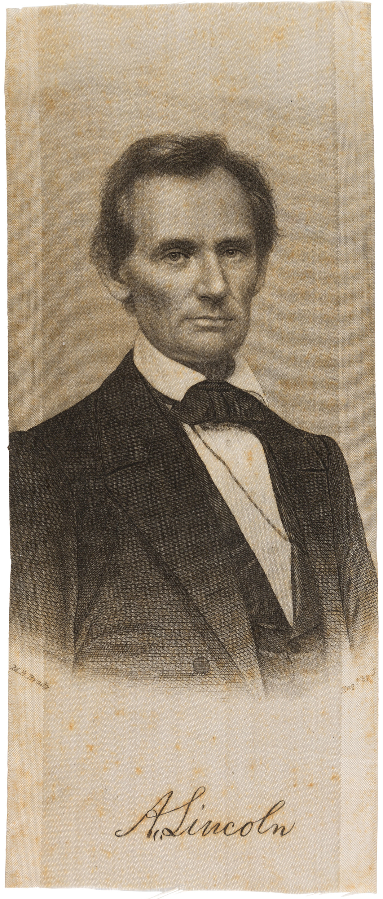 "Abraham Lincoln ""Brady"" ribbon"