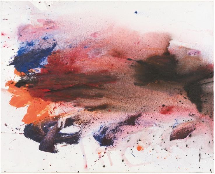 OTTO MUEHL (1925 Grodnau - 2013 Moncarapacho) - Ohne Titel, Acryl/Lwd., 100 x 120 cm, signiert, 1988 Schätzpreis: 18.000-25.000 EUR Rufpreis: 12.000 EUR