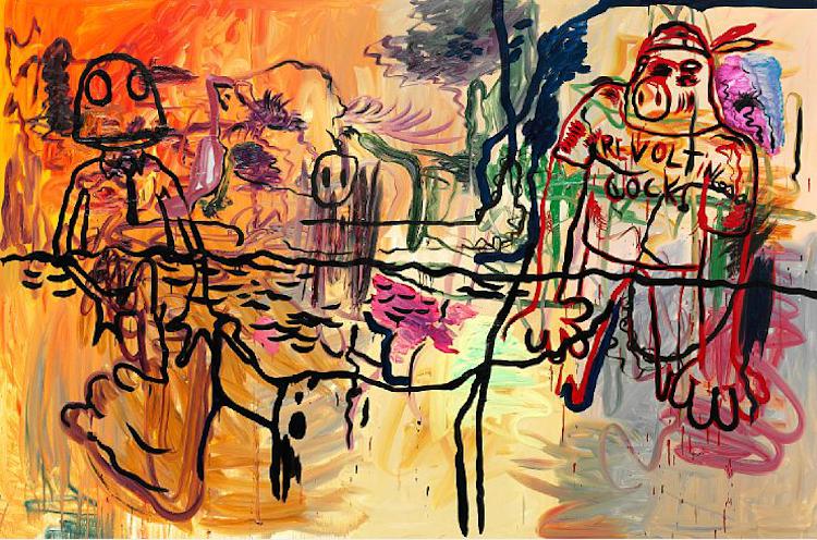 En av Danmarks mest hyllade samtida konstnärer som slagit stort internationellt och visas av bland andra Lars Bohman Gallery här i Sverige är Bjarne Melgaard