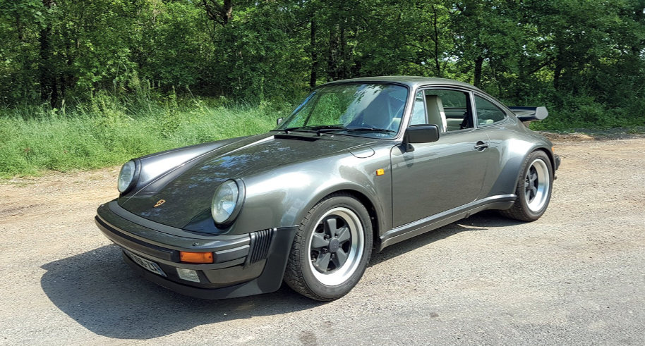 PORSCHE 911 3.3L TURBO BV5 COUPE - 1989