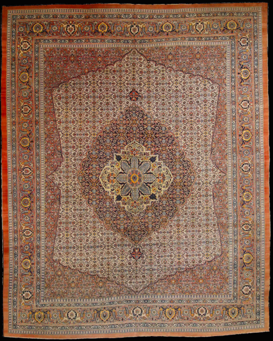 Persisk matta, Haji Jalili, sent 1800-tal. Utropspris: 280 000 - 400 000 kronor.