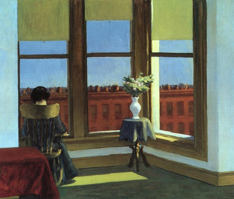 "Edward Hoppers ""Room in Brooklyn"", 1932"
