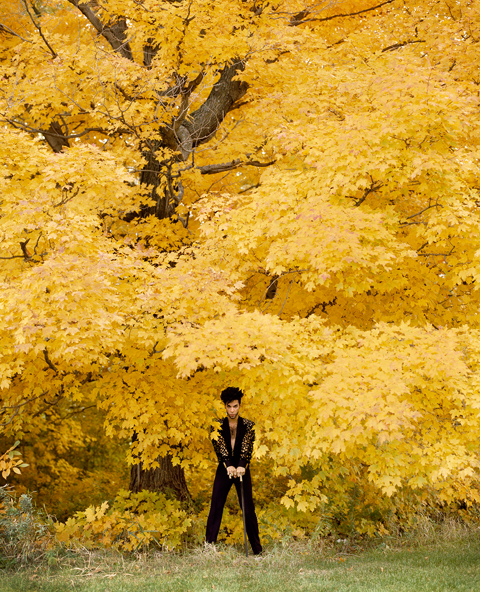 Herb Ritts, Prince, Minneapolis 1991 Image via Herb Ritts