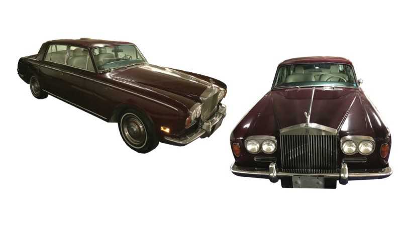 Minnelli's 1971 Rolls-Royce Silver Shadow sedan. Photo: Profiles in History.