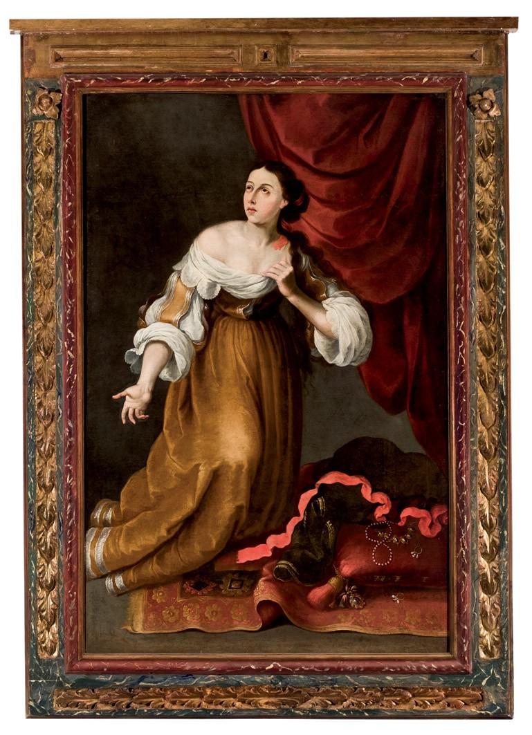 Mary Magdalene, 18th century. Photo: Duran Arté y Subastas