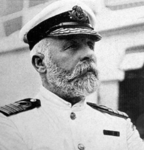 Edward Smith, Capitano del Titanic. Foto: Exponaut Edward Smith