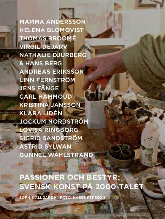 """Omslag till """"Passioner och bestyr"""", av Jennie Fahlstrom. Bild från SAK."""