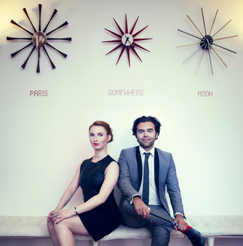 Lucie-Éléonore Riveron et Cédric Melado, co-fondateurs de FauveParis