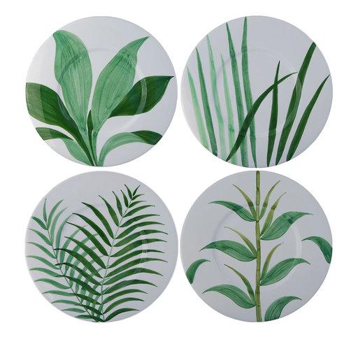 Set of 4 natura ceramic platesArtemest