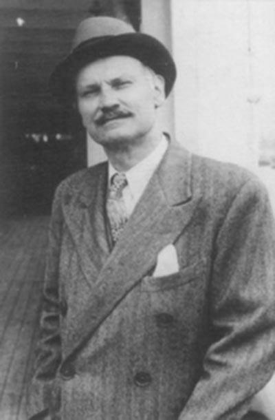 Mauritz Håkan Björnström-Steffansson. Image: Encyclopedia Titanica