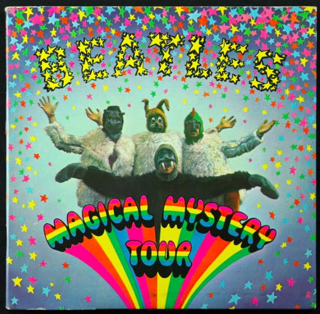 Lot de 5 singles des Beatles, 1967-1970