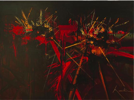 Georges Mathieu, 'The Desperate Failure', 1990. Photo: Leclere