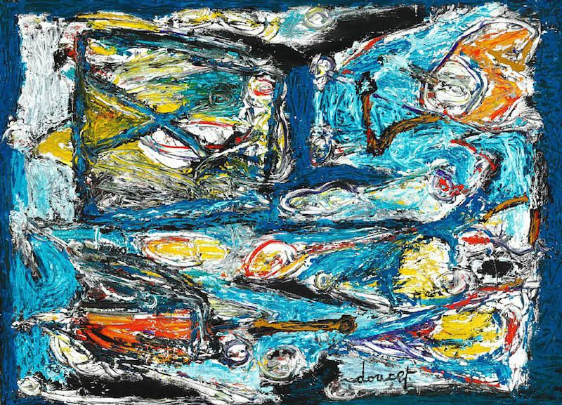 Jacques Doucet, « Terre de Mer », image via cobraartcollection.com.