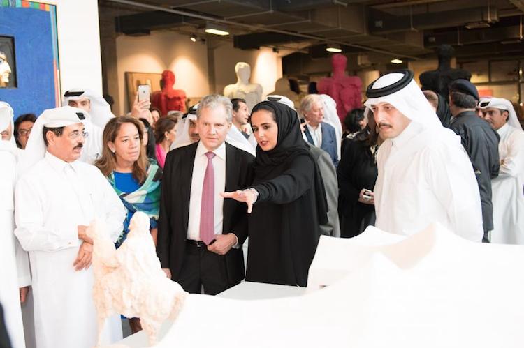 Sheikha Mayassa Al Thani Foto: Qatar Museum. qm.org.qa