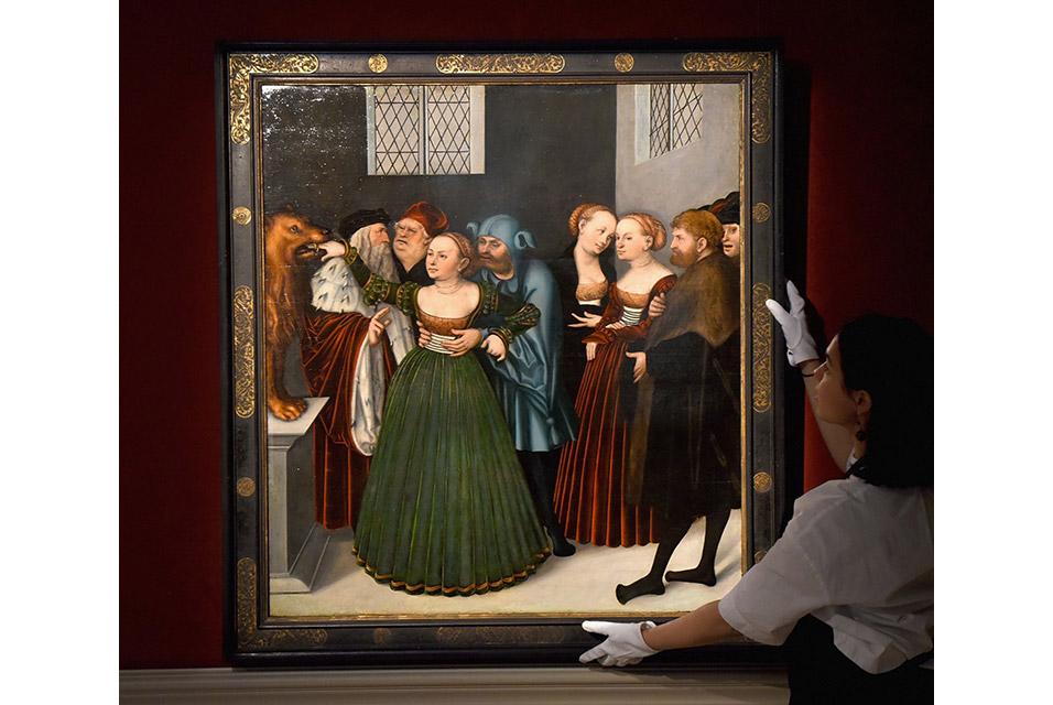 """Lucas Cranach den äldre """"The Bocca della Verità"""""""