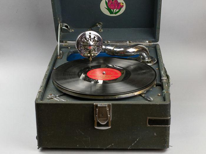 Gramophone soviet, 1930-1940, en vente sur Catawiki