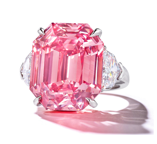 The Pink Legacy, image ©Christie's