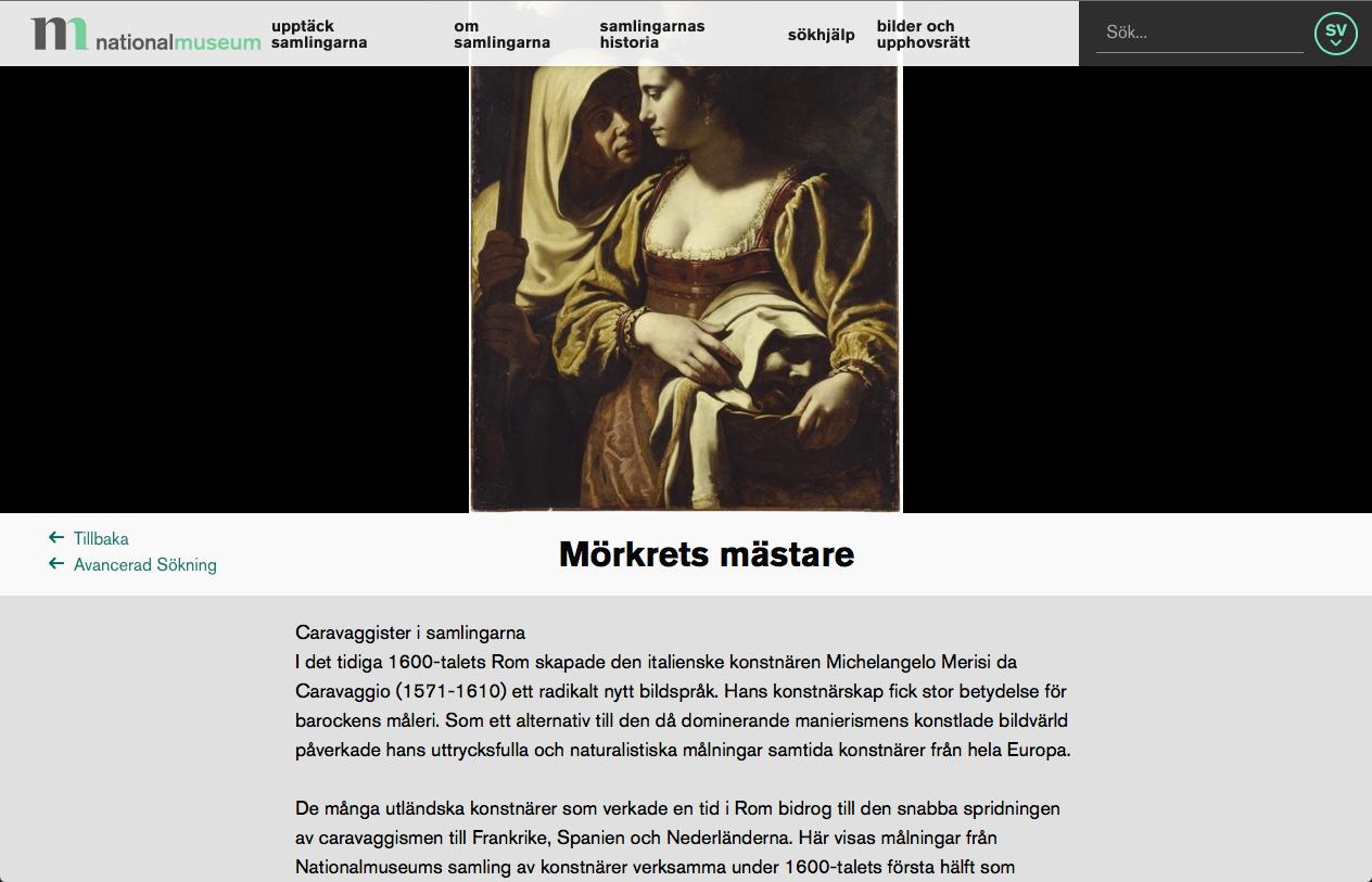 Nationalmuseum Caravaggio