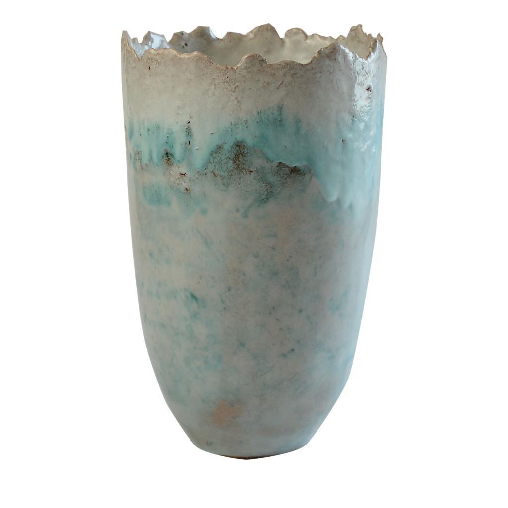 Wanda Fiscina -Large terracotta vase