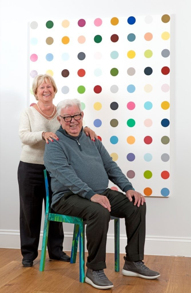 Frank et Lorna Dunphy, image ©Sotheby's