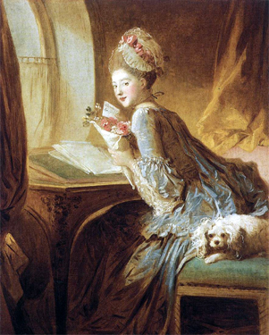 Jean-Honoré Fragonard (1732-1806) , Jeune fille endormie, 1756-1761, image via We make history