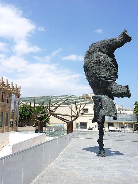 Gran elegant dret, Miquel Barceló (2009)