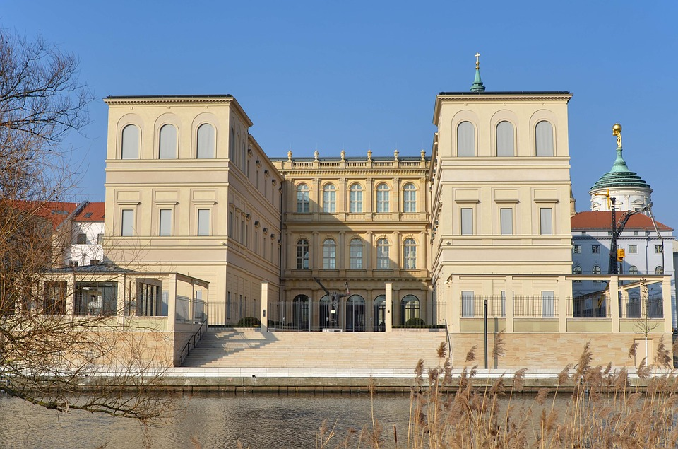 Museum Barberini am Ufer der Havel