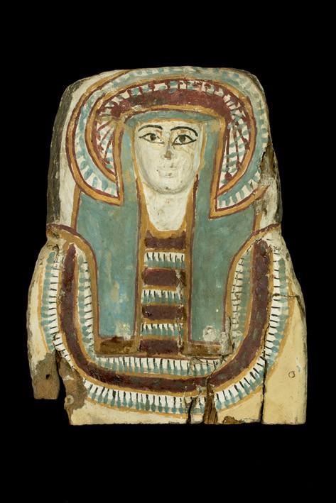 Tapa de sarcófago. Egipto. Baja época