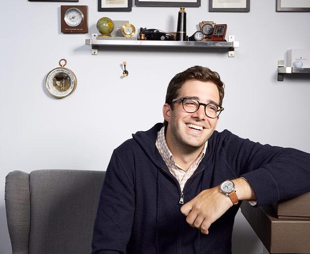 Ben Clymer en 2013, lors d'une interview pour Esquire Image: courtesy of Robyn Twomey