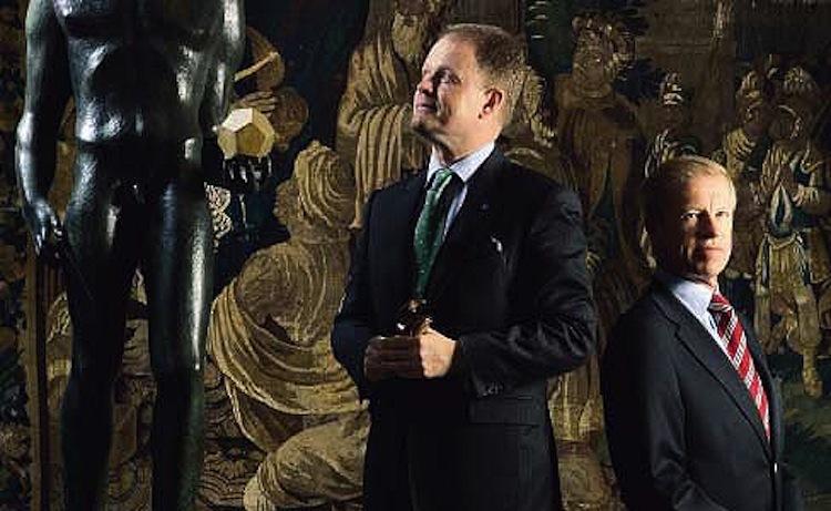 Tidigare ägarna: Niclas Forsman, fortfarande vd för Stockholms Auktionsverk tillsammans med tidigare huvudägaren Peter Alarik