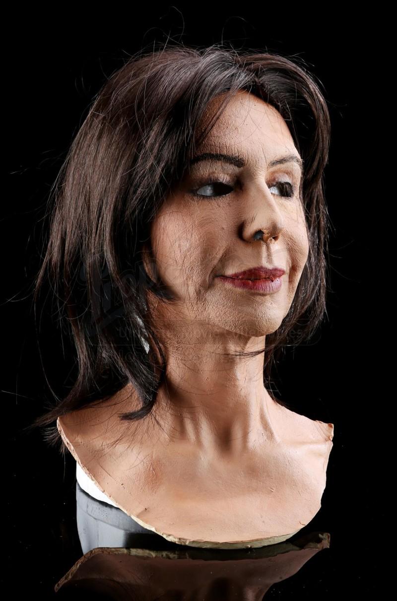 Anna Devane's (Finola Hughes) Dr. Obrecht Foam Latex Mask and Wig