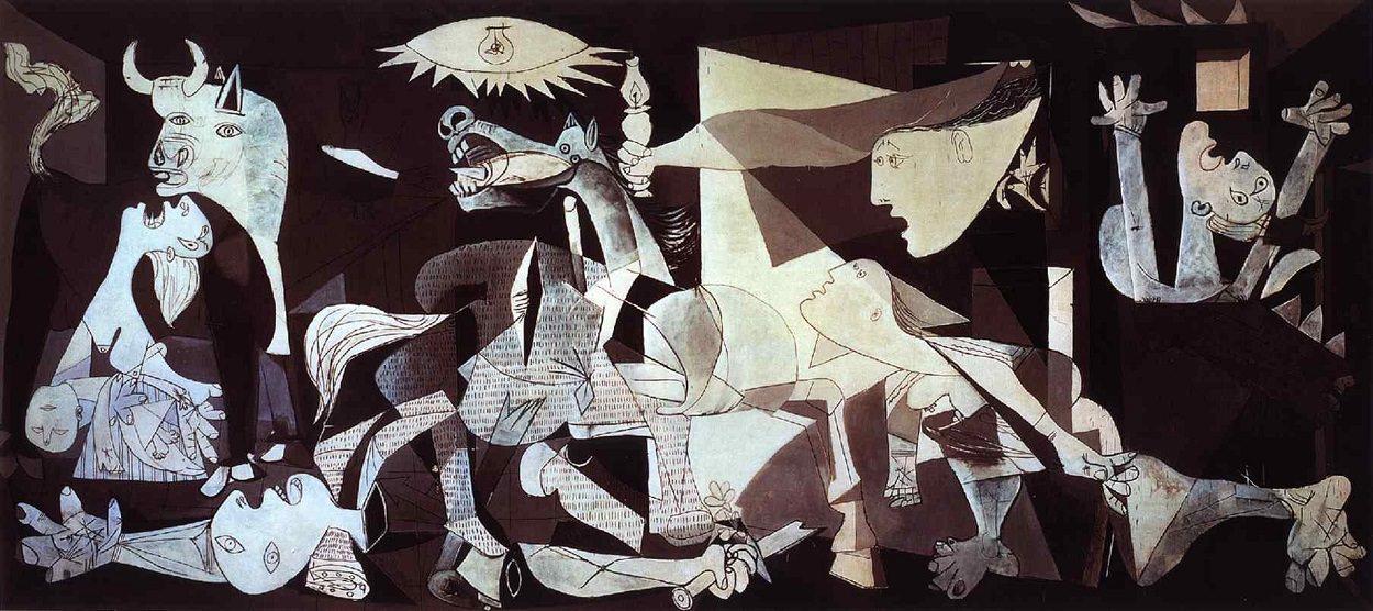 Pablo Picasso Guernica, 1937 Image via Pablopicasso.org