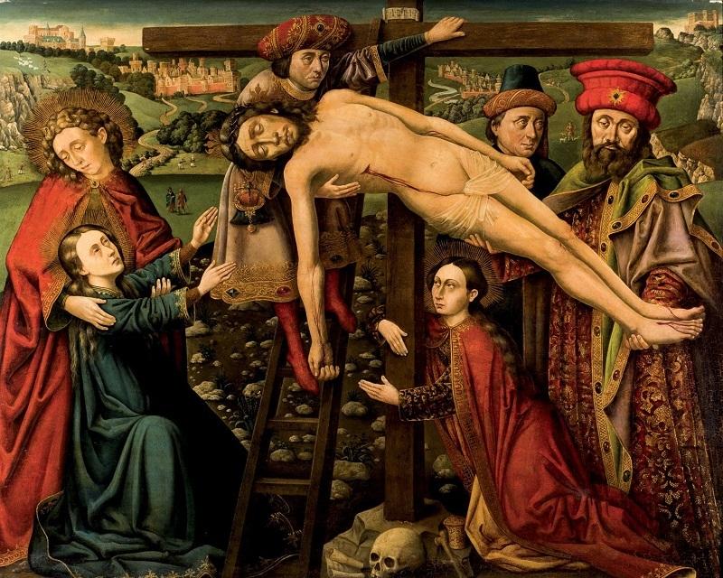 PEDRO SÁNCHEZ - Descendimiento, Schule von Sevilla, 15. Jahrhundert Ausrufpreis: 47.500 EUR