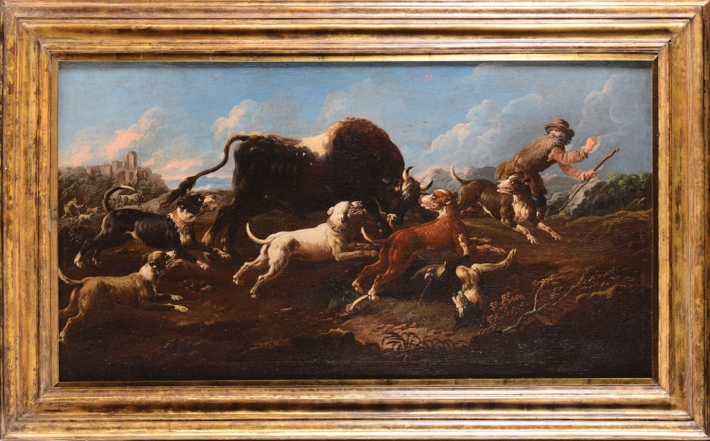 Philipp Peter Roos, connu sous le nom de Rosa Tivoli (Francfort 1655 - Tivoli 1706) Estimation: 40 000-50 000 €