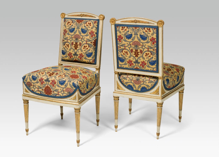 Paar Empire-Stühle aus der Albertina, Wien um 1800 Schätzpreis: 10.000-20.000 EUR