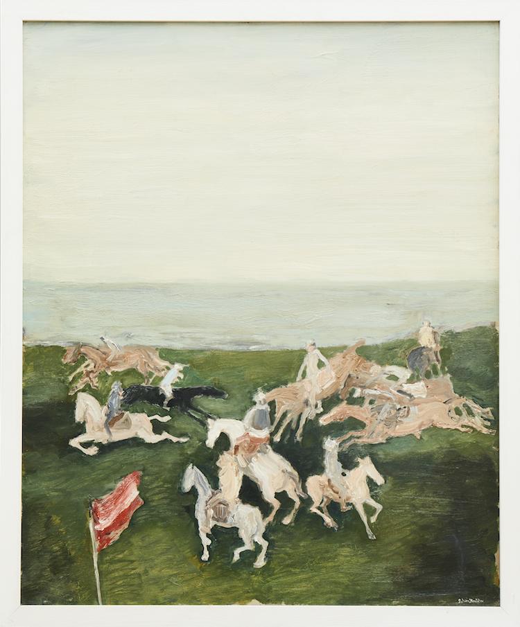 """""""Hästpolo"""" av Bertram Schmiterlöw ropas ut för 15-20 000 kronor"""