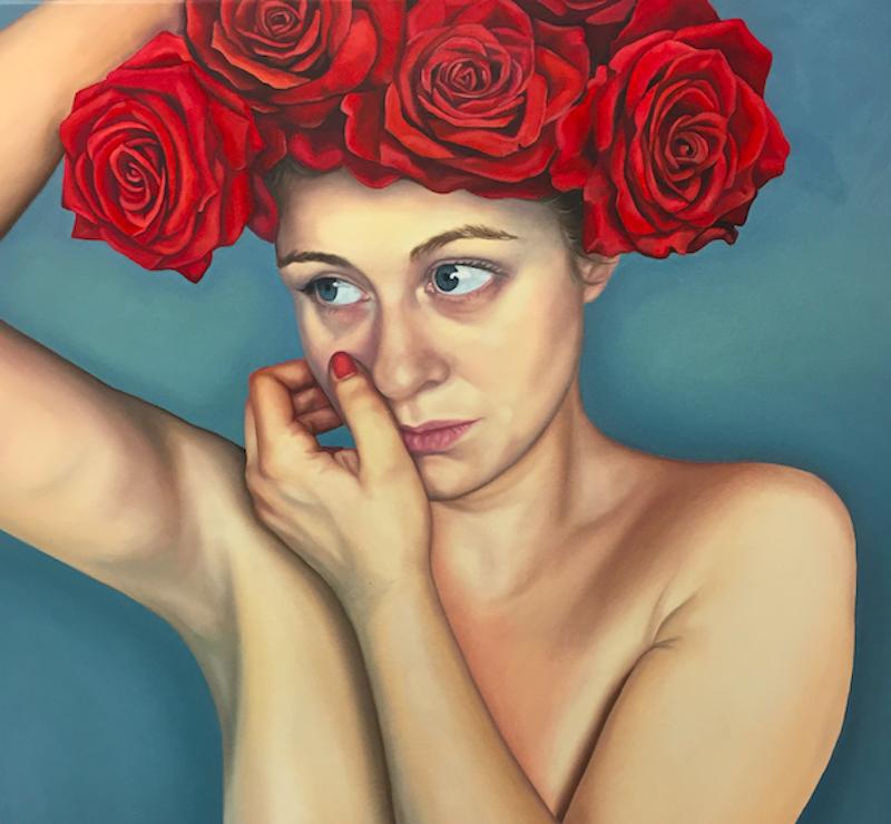 """ArtDog London, Amy Carter, """"Nude"""", 70 x 70 cm, 17 140 SEK"""