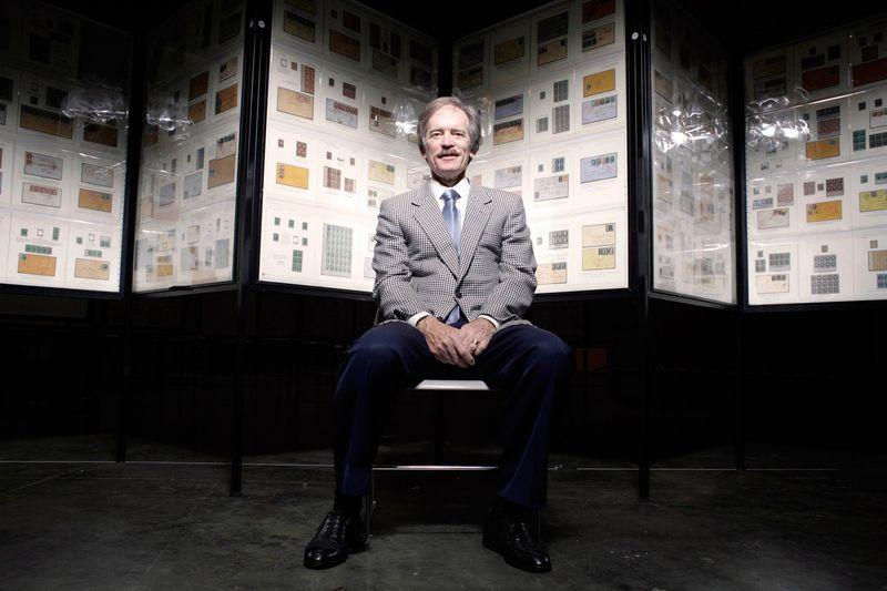 Bill Gross frimärken