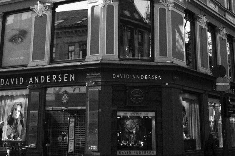 David Andersen's shop located in Oslo