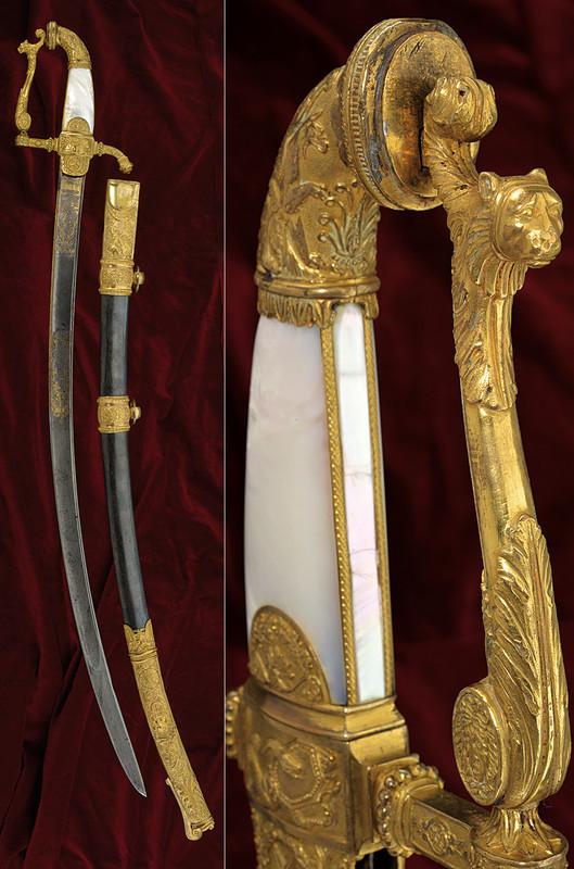 En lyxig och väldigt ovanlig generalssabel av Duc à Paris. Utrop: 323 000 SEK