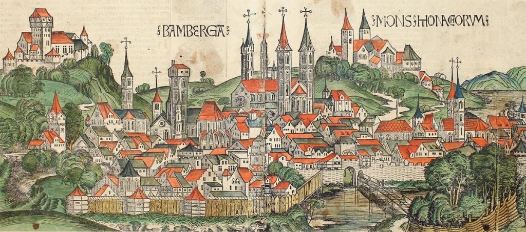 HARTMANN SCHEDEL - Buch der Croniken und Geschichten. Durch Georg Alt in teutsch gebracht. Fragment. Nürnberg, A.Koberger 1493